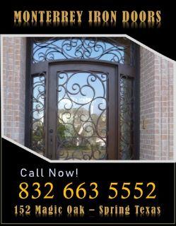 Ornamental Wrought Iron Doors