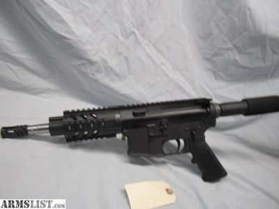 For Sale: Anderson AR 15 Pistol cal 223 WYLDE 7:1 Twist