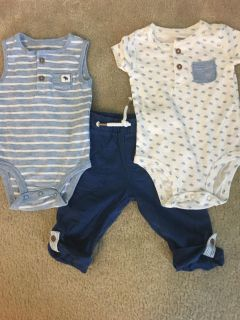 Just for you boys outfit 6 mo.