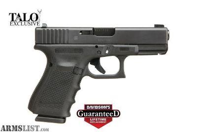 For Sale: Glock 19 Talo edition