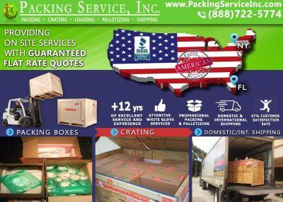 Packing Service, Inc Lakeland - FL - International Shipping, Custom Crating, Packing