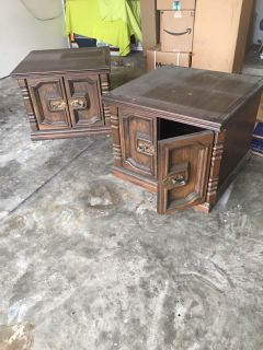 End table projects - pair