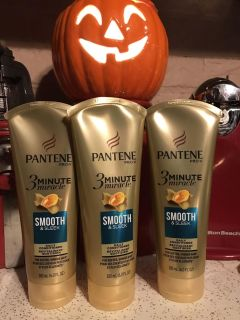 Pantene 3 minute miracle smooth & sleek conditioner
