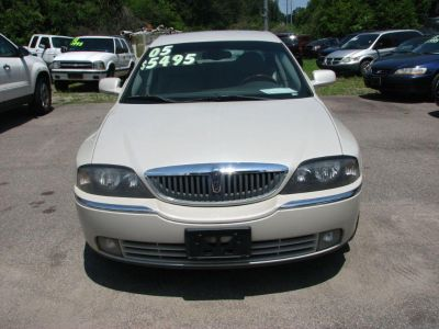 2005 Lincoln LS Luxury (White)