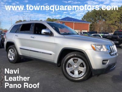 2012 Jeep Grand Cherokee Limited (Silver)