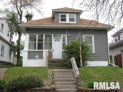 3 Bed 1 Bath Foreclosure Property in Rock Island, IL 61201 - 7th St