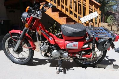 1984 Honda 110 Trailbike
