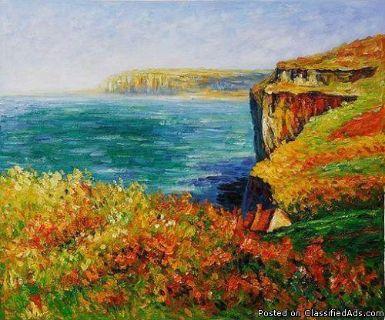 Sacramento Studio 4/12: Monet Ocean Cliff ~ BOGO!!!