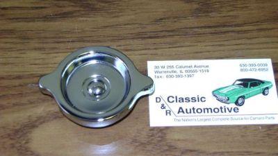 Buy Oil Filler Cap Chrome 69-70 Camaro Corvette Chevelle Nova **In Stock!** S Rivet motorcycle in Warrenville, Illinois, United States, for US $27.45