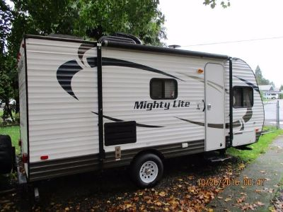 2015 Pacific Coachworks Mighty Lite 16BB Travel Trailer