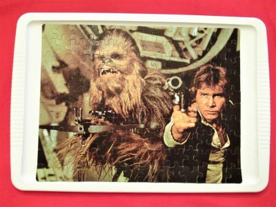 Orginal 1977 Star Wars Han & Chewbacca Jigsaw Puzzle 140 Pieces Kenner