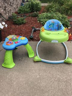 Activity table and walker