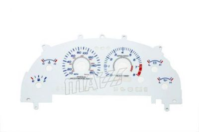 Find 160MPH Glow Gauges Indigo Faces Euro Reverse For New 99-01 Ford Mustang Cobra motorcycle in Monterey Park, California, United States, for US $24.99