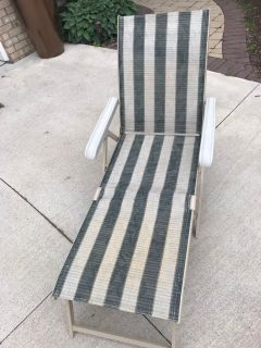 Outdoor Reclining Lounger chair