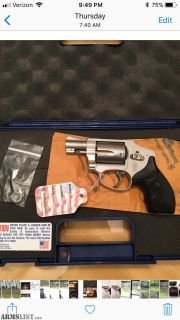 For Sale: Smith & Wesson 642 Airweight