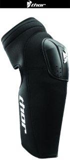 Buy Thor Static Black Knee Shin Guards One Size Dirt Bike Motocross MX Armor 2014 motorcycle in Ashton, Illinois, US, for US $49.95