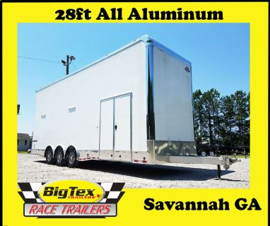 2018 Cargo Mate 8.5x34 Eliminator ALL ALUMINUM with Side Cab
