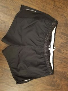 Champion black active shorts with back key/cash zip. See pics. Worn maybe once.