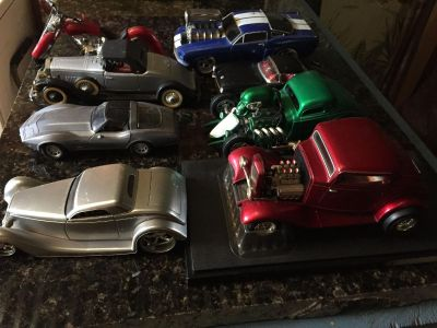 Dads Toy Display Collectable Car Collection