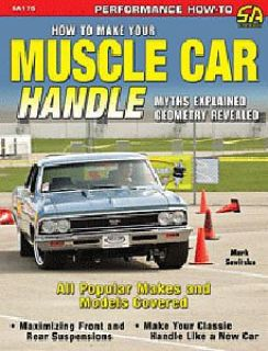 Sell SA Design SA175 Book: How To Make Your Muscle Car Handle Author: Mark Savitske motorcycle in Delaware, Ohio, United States, for US $24.95