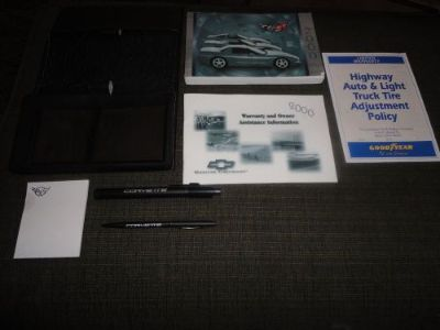 Find 2000 Corvette Owners Manual Packet ORIGINAL OEM motorcycle in Crown Point, Indiana, United States, for US $55.00