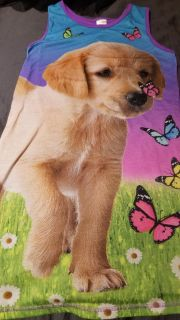 Girld puppy/butterfly nightgown