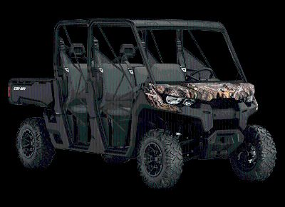 2018 Can-Am Defender MAX DPS HD10 Side x Side Utility Vehicles Hays, KS