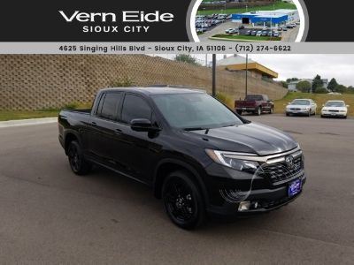 2018 Honda Ridgeline Black Edition (black)