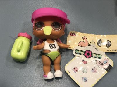 MGA Lol Surprise Dolls Series 3 Confetti POP Spike XPOSTED PPU