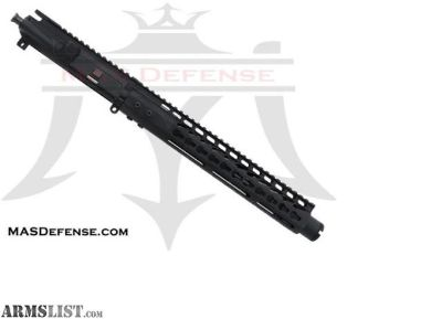 "For Sale: MAS Defense 10.5"" 5.56 / .223 BARRELED UPPER - GTLKM 12"" KEYMOD 5.56, .223 WYLDE, AR15 AR 15 AR-15"