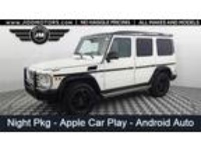 Used 2017 Mercedes-Benz G-Class White, 22.6K miles