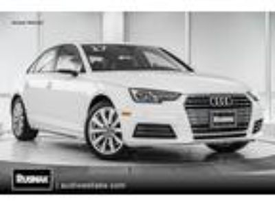 Used 2017 Audi A4 White, 50.2K miles