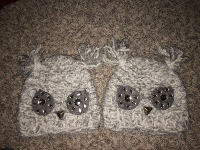 Super soft owl hats from Claire s