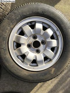 "13"" VW OEM wheels"