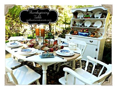 Dining Room Set w/ Gorgeous Hutch