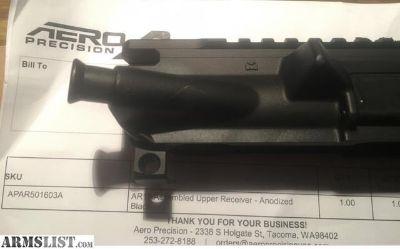 For Sale: aero precision upper receiver