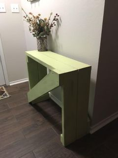 Entry table/project table