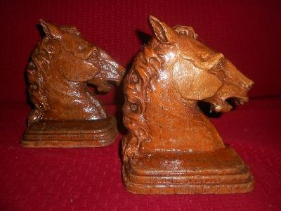 Bookends - Horse head