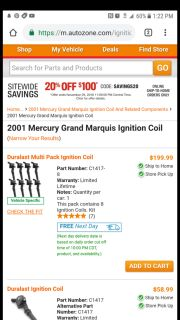BRAND NEW IGNITION COILS