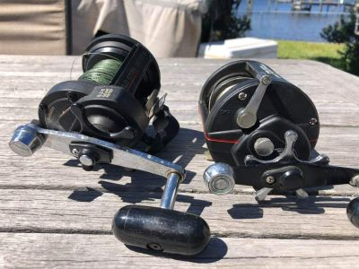 (REDUCED AGAIN) Shimano TLD Star 20/40S (+New 4/0 ?Name Chinese LevelWind Reel)