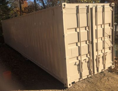 40' POD, Storage Container, Shipping Container, Conex BOX