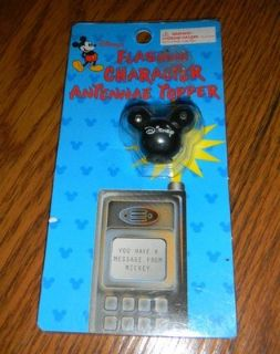 Disney Mickey Mouse Flashing Antennae Topper NEW
