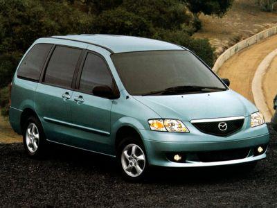 2002 Mazda MPV ES (Shimmering Sand Metallic)
