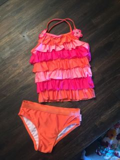 American Girl Bitty Baby bathing suit for girls. Size 6. Excellent condition!!