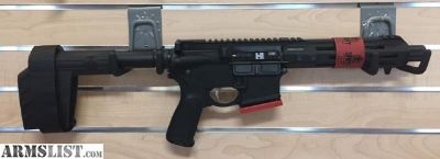 "For Sale: NEW Springfield SAINT Pistol 5.56 AR-15 Pistol - 7.5"" Barrel & Brace, with 30 Round Mag"