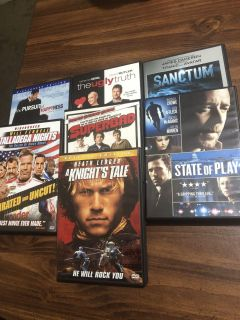 7 DVDs for $5
