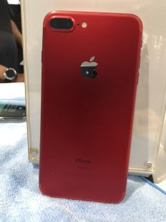 Like New- iPhone 7Plus Product Red edition