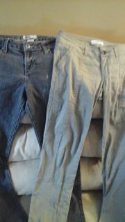 Size 1 women's teens Jolt & SO Pants $ 3 for both pairs