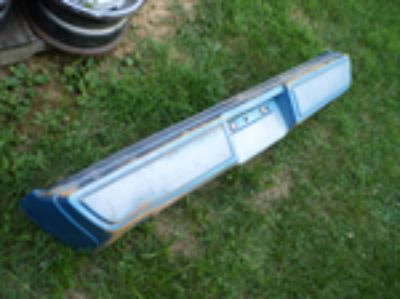 Parts For Sale: 79 80 81 FIREBIRD TRANS AM REAR BUMPER PONTIAC OEM RARE FORMULA 455 400 428 350 WITH INNER STEEL CORE