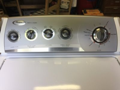 Whirlpool Washer Super Capicity
